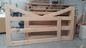 Macrocarpa gates cromwell joiner