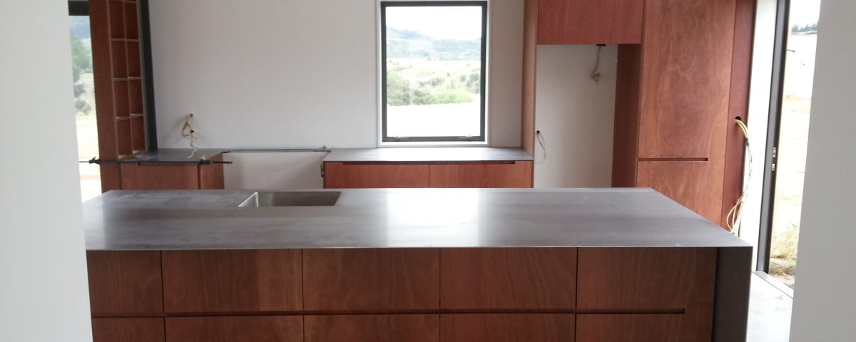 Plywood kitchen Cromwell Joinery