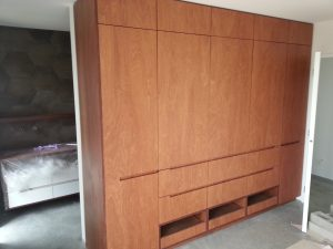 Plywood wardrobe Cromwell Joinery